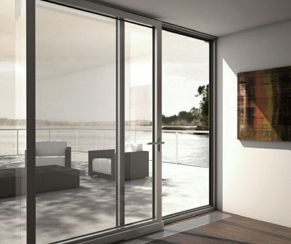 Balcony sliding door