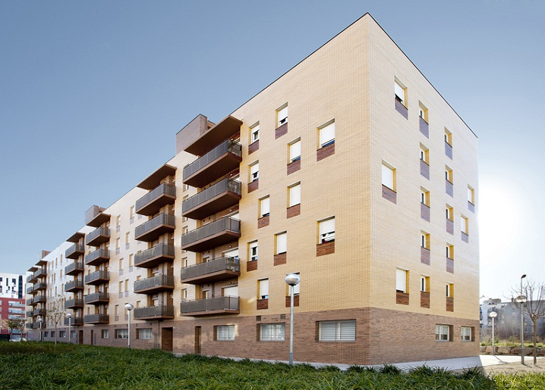 Apartments Building at L´Hospitalet