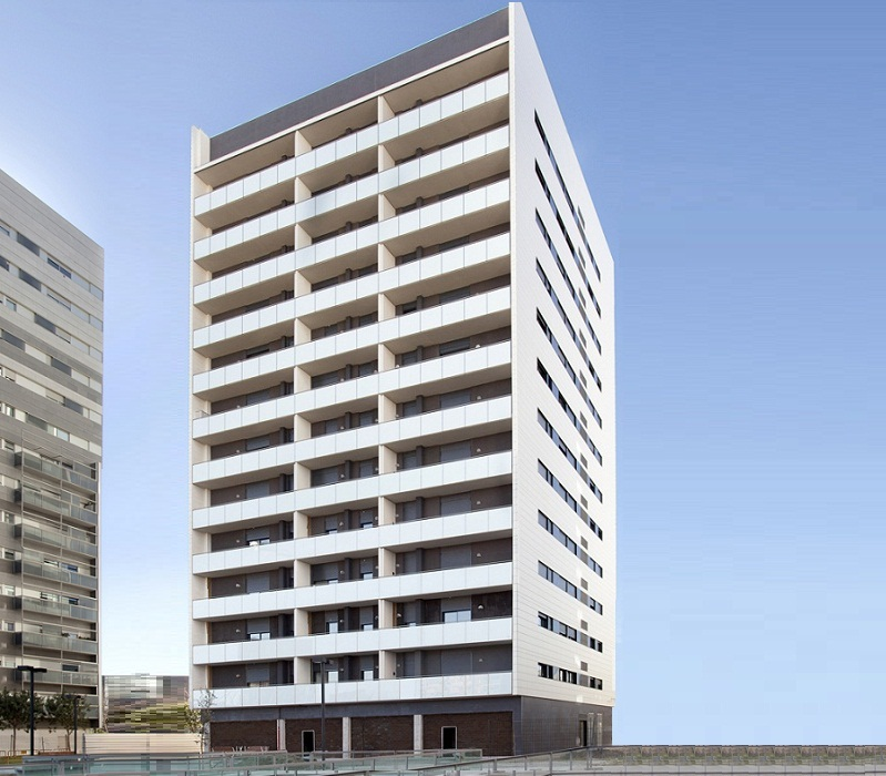 Apartments Building at L'Hospitalet