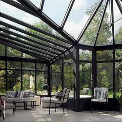 y verandas de aluminio technal